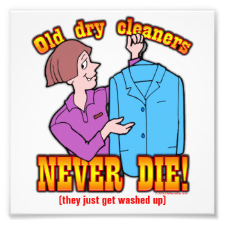 Dry Cleaners Photo Print