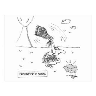 Dry Cleaning Cartoon 2892 Postcard