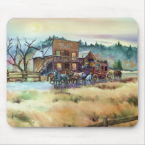 DRY CREEK STATION by SHARON SHARPE Mouse Pad