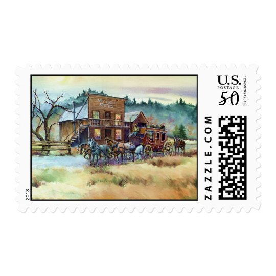 DRY CREEK STATION by SHARON SHARPE Postage