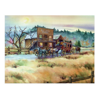 DRY CREEK STATION by SHARON SHARPE Postcard