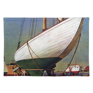 Dry Dock by John Atherton Placemat