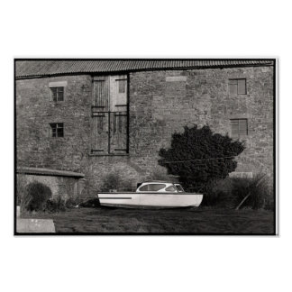 Dry Dock in Dorset Poster