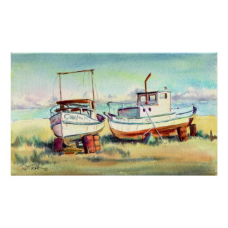 DRY DOCKED by SHARON SHARPE Poster