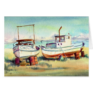 DRY DOCKED by SHARON SHARPE Stationery Note Card