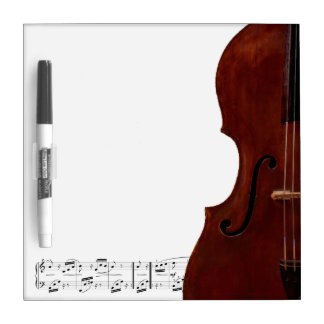 Dry Erase Board - Double Bass - Customize it.