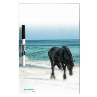 Dry Erase board, equestrian,horse Dry-Erase Board