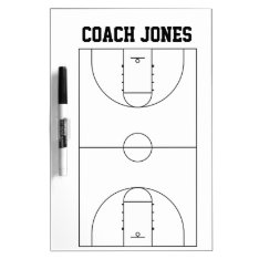 Dry Erase Board For Basketball Coach at Zazzle