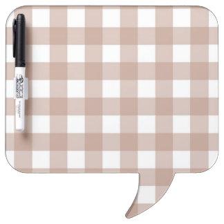 Dry-Erase Board - Lattice for Palest Pink Zinnia
