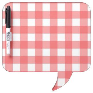 Dry-Erase Board - Lattice for Red Zinnia