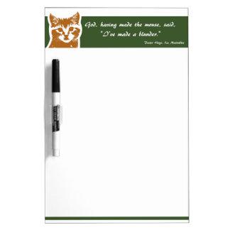 Dry Erase Board Medium: The Cat