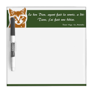 Dry Erase Board Small: Le Chat