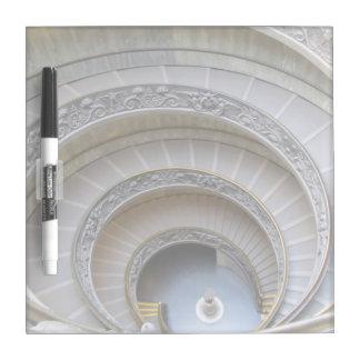 Dry Erase Board--Spiral Stairs Dry Erase Board
