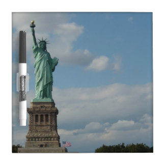 Dry Erase Board: Statue of Liberty (small) Dry Erase Board