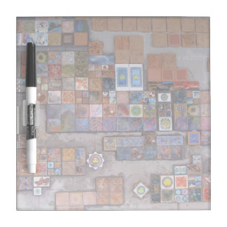 Dry Erase Board--Train Station Tiles. Dry-Erase Board