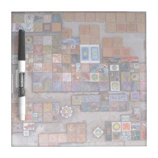 Dry Erase Board--Train Station Tiles.