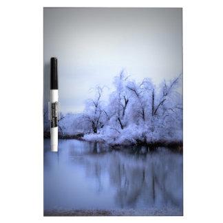 Dry Erase Board, Willow Winter Wonderland Dry-Erase Board