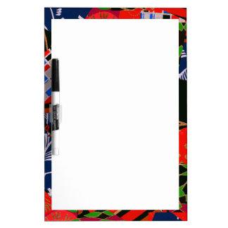 Dry Erase Board with Brilliant Collage