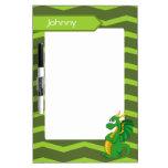 Dry Erase Board with dragon cartoon Dry-Erase Whiteboard