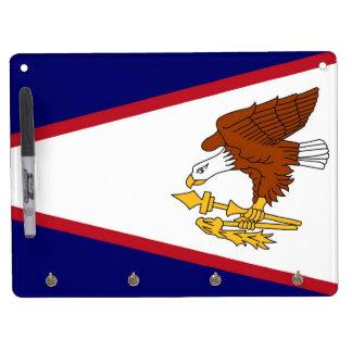 Dry Erase Board with Flag of American Samoa, USA