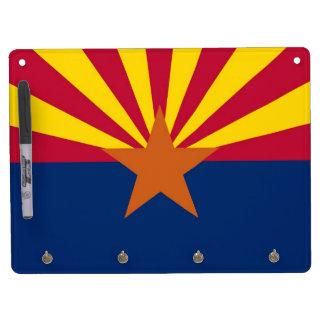 Dry Erase Board with Flag of Arizona, USA