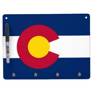 Dry Erase Board with Flag of Colorado, USA