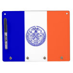 Dry Erase Board with Flag of New York, USA