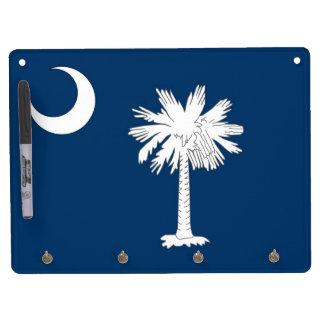 Dry Erase Board with Flag of South Carolina, USA