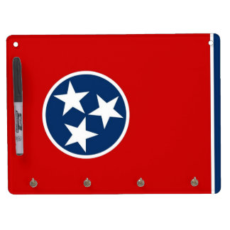 Dry Erase Board with Flag of Tennessee, USA
