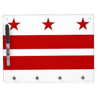 Dry Erase Board with Flag of Washington DC, USA