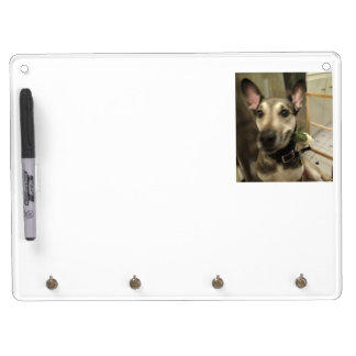 Dry Erase Board with Key Holder