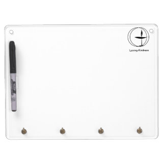 Dry-Erase Board With Key Hooks