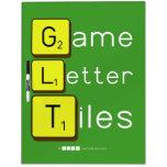 Game Letter Tiles  Dry Erase Boards