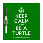 [Crown] keep calm and be a turtle  Dry-erase Boards