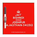 [Crown] jat' bishnoi chadi jodhpur rajasthan-342312  Dry-erase Boards