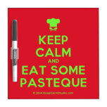[Chef hat] keep calm and eat some pasteque  Dry-erase Boards