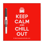 [Campervan] keep calm and chill out  Dry-erase Boards