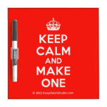 [Crown] keep calm and make one  Dry-erase Boards