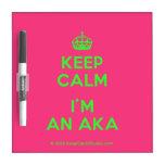 [Crown] keep calm i'm an aka  Dry-erase Boards