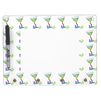 DRY ERASE BOARDS - BUTTERFLY MARTINI