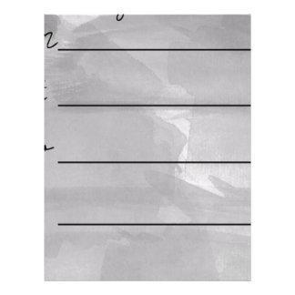 Dry erase weekly planner letterhead