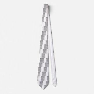 Dry erase weekly planner tie