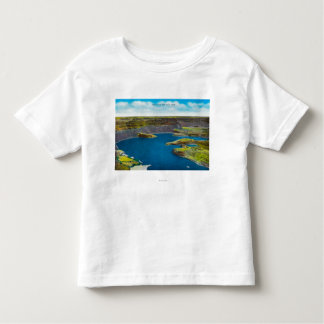 Dry Falls and Falls Lake, Grand Coulee Dam Toddler T-shirt