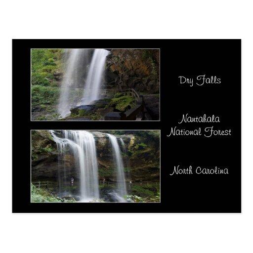 Dry Falls Waterfall Postcard