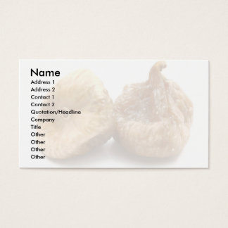 Dry figs business card