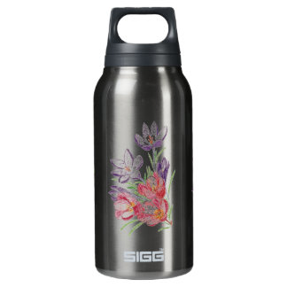 Dry flowers smoked pearl SIGG thermo bottle