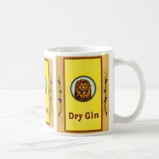 Dry Gin Lion Coffee Mugs