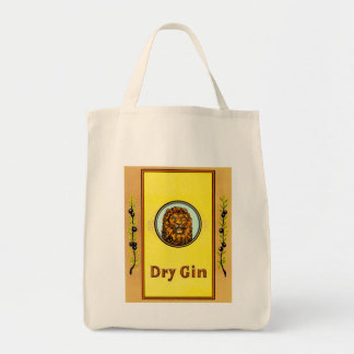 Dry Gin Lion Tote Bag