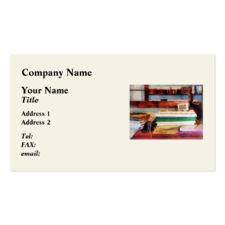 Dry Goods for Sale Business Card Templates