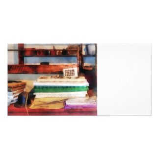 Dry Goods for Sale Personalized Photo Card